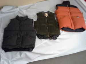We create vests with multiple options. Pockets? Hood? Higher collar? More length? Just let us know!